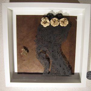 Profil brun arbre
