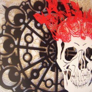 Crâne couronné détail2