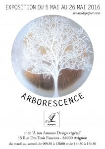 Affiche expo Arborescence